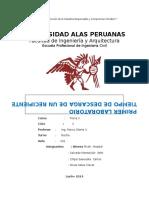 Laboratorio 1 de FISICA II 2014