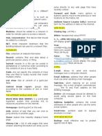 Lab Sheets