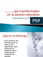 Liderazgo Transfornacional.gestion Educativa.octubre.2014