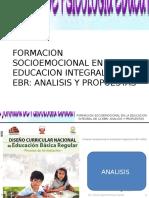 Formacion Socioemocional en La EBR
