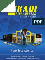 2015 Hikari Catalogo