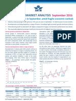 IATA Passenger Analysis Sep 2016