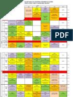 Jadwal Kuliah FT unja 2016 Revisi FIX.2