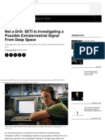 Not a Drill_ SETI is Investigating a Possible ET Signal From Space _ Observer