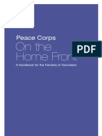 Peace Corps On The Home Front A Handbook for the Families of Volunteers  |  October 2005