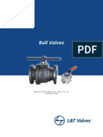 L&T Process Ball Valves