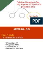Baru Fasilitasi Hiv Aids