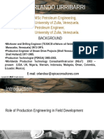 Role of Production Engineering in Field Development