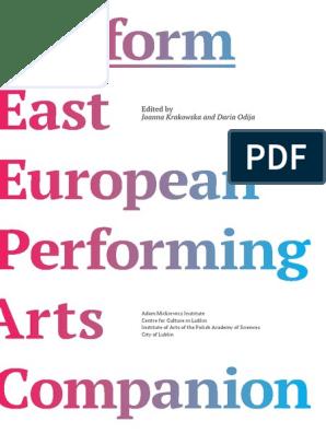 Platform - East European Performing Arts Companion | Belarus | Theatre