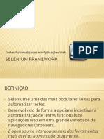 Introdução Selenium Framework