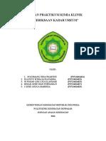 Laporan Kimia Klinik (Ureum)