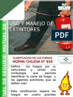 PPT Manejo-Extintores Mutual