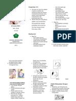 Leaflet Teknik Menyusui Yang Baik Dan Benar,,