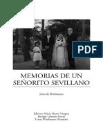 Memorias de Un Senorito Sevillano