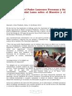 Diálogo Entre El P. Laurence y El Dalai Lama
