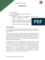 laboratorio -permeabilidad