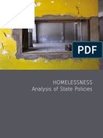 Research►Homelessness-Analysis of State Policies