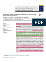 Extracellular Polymeric Substances of Bacteria and Their Potential Environmental Applications