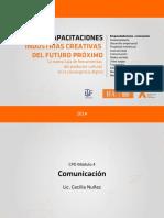 CPD Redes Sociales y Comunidades Virtuales - Cecilia Nuñez