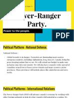 power-ranger party