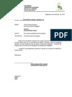 Oficio Replica Del Taller Modificación Cronograma Agosto