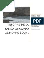 Morro solar geologia general