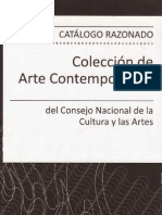 (2008) Catalogo Razonado Coleccion Arte Contemporaneo CNCA