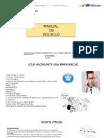 Manual de bolsillo de primeros auxilios Pptx