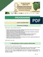 Programme 2016 CIPAM 9