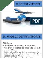El Modelo de Transporte Alumnos