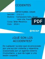 Prevencion de accidentes en un taller mecanico