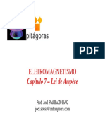 7ª Aula - CAP 7 - Lei de Ampere