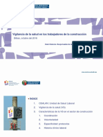 PPT Vigilancia Salud Construccion Osal