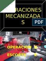 OPERACIONES MECANIZADAS G3