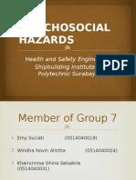 Phsycosocial Hazard