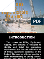 Riggers Training Course