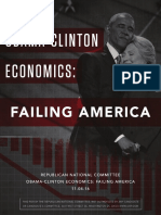 Obama-Clinton Economics