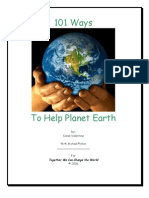 101 Ways to Help Planet Earth