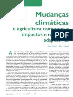 Artigo 1 Mudanças Climáticas e Agricultura Camponesa Impactos e Respostas Adaptativas