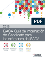2016 ISACA Exam Candidate Information Guide Exp Spa 1115
