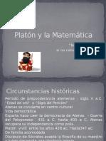 Platón y La Matemática