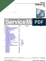 схема и сервис мануал на английском Philips шасси TPN10.1E LA EN 3122 785 19531.pdf