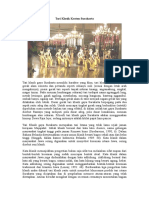 Tari Klasik Kraton Surakarta