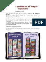 Esquema Panorámico Del Antiguo Testamento