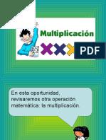 Multiplicación 2° Básico