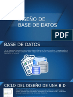 DIAPOSITIVA BASE DE DATOS