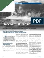 Geothermal Japan