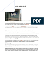 SAP Licensing Quick Guide