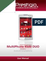 Pap4500duo User Manual en(1.1)