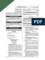 Ley de Seguridad y Salud en el Trabajo-29783 Peru